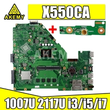 Laptop Motherboard Para For Asus X550C X550CA X550CC X550CL Y581C R510C Mainboard teste ok 2GB 4GB RAM 1007U 2117U i3/i5/i7 cpu