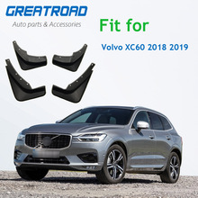 4Pcs Front Rear Car Mud Flaps For Volvo XC60 2018 2019 Mudflaps Splash Guards Mud Flap Mudguards Accessories