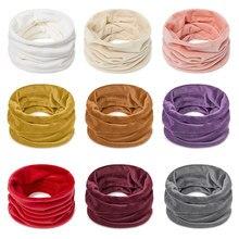 Зимний шарф шарфы для женщин и мужчин мягкий кольцевой шарф на шею Женская одежда Аксессуары