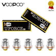 Oryginalny VOOPOO UFORCE U2 cewki podwójne 0 4ohm rdzeń głowy P2 N1 N2 N3 U4 U6 U8 D4 dla VOOPOO przeciągnij Uforce zbiornik E Cigs Atomizer rdzenie tanie tanio CN (pochodzenie) Voopoo Drag Nano Pod Replacement Cartridge Voopoo Drag Nano Pod Kit 4pcs pack 1 0ml PCTG 36 3 * 15 * 7 0mm