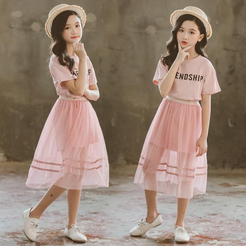 Dress For Girls Summer Sundress Ball Gown Beach Teen Holiday Girl Children Elegant Dress Costume 4 5 6 7 8 9 10 11 12 13 14 Year