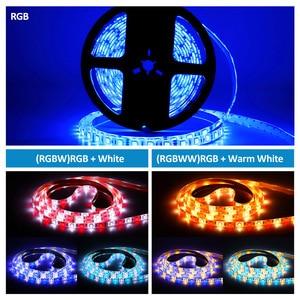 Image 2 - DC 12V Mini WIFI RGB/RGBW/RGBWW Led Strip 5050 Led Flexible Light Waterproof Magic Home APP Alexa Google / 24Key IR RGB Strip