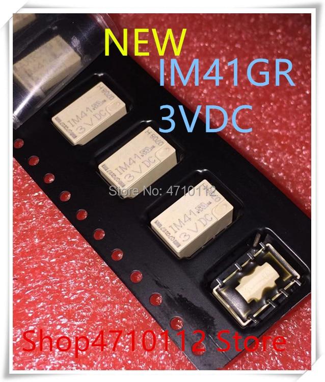 NEW 10PCS/LOT IM41 IM41GR 5-1462037-4 8PINS 2A 3VDC Signal Relay