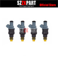 4pcs Free shipping CNG 1600cc high performance fuel injector 0280150842 0280150846 for BOSCH Mazda RX7 racing car truck