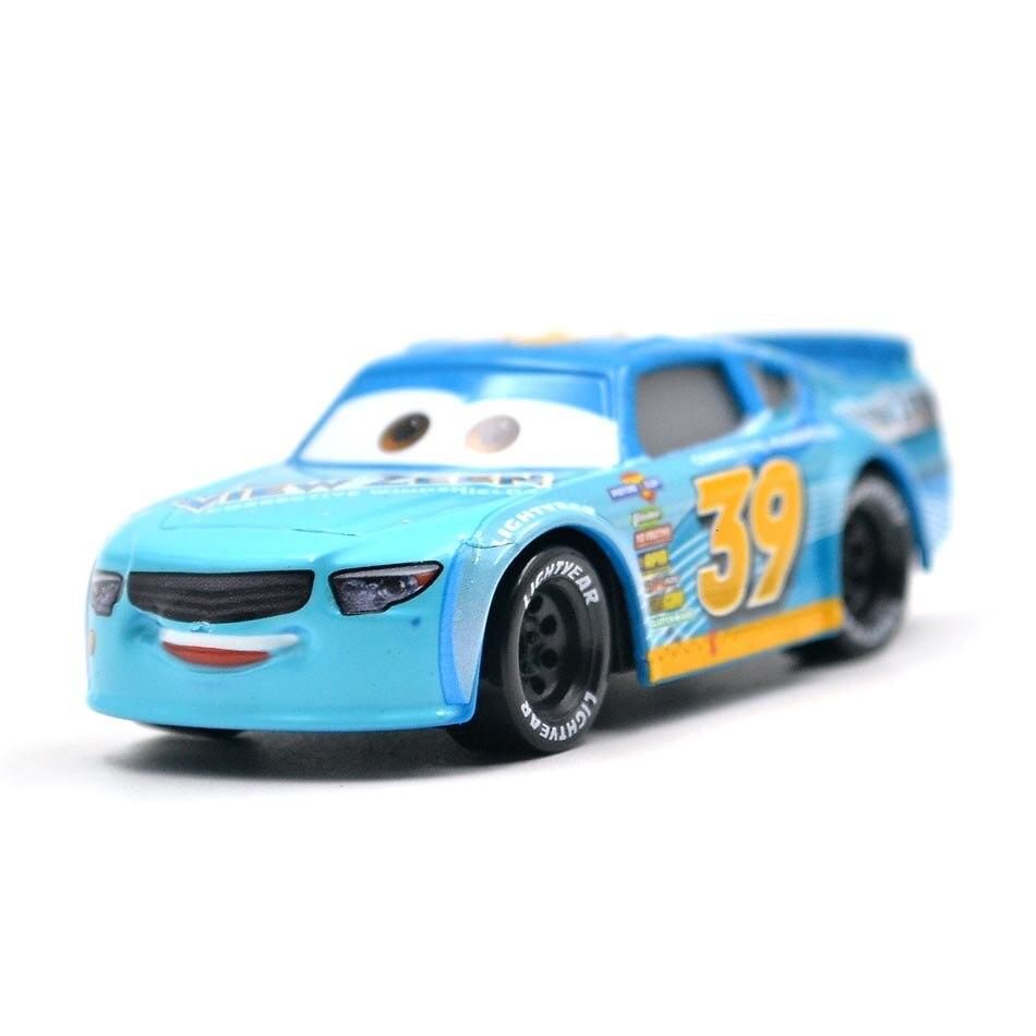 Disney Pixar тачки 3 20 стильные игрушки для детей Молния Маккуин Высокое качество Пластиковые тачки игрушки модели персонажей из мультфильмов рождественские подарки - Цвет: 25