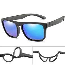 Sunglasses Square Uv400-Eyewear Childrien Girls Polarized Boys New-Fashion Breakproof
