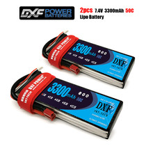 DXF 3300mAh 7.4V 50C-100C Lipo battery 2S XT60/DEANS/XT90/EC5 For AKKU Drone FPV Truck four axi Helicopter RC Car Airplane