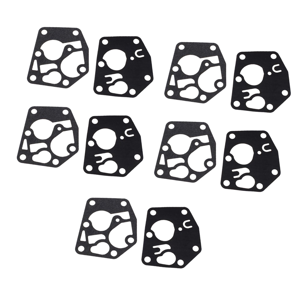 Carburetor Carb Diaphragm Gasket Kits for <font><b>Briggs</b></font> Stratton Engine Lawn Mower 495770 <font><b>795083</b></font> 5083 H 5083 K OEM SPM214686423 image