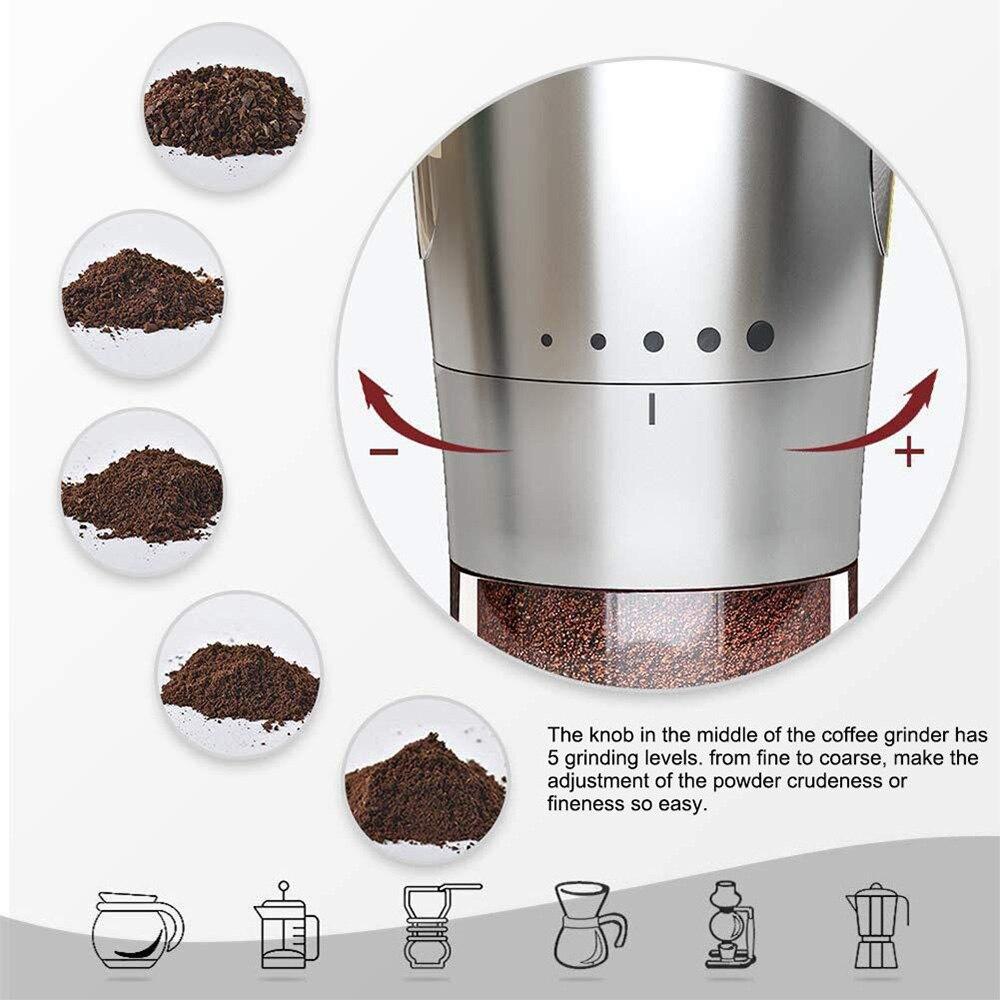 ajuste ajustável cônica cerâmica rebarba moedor moinho