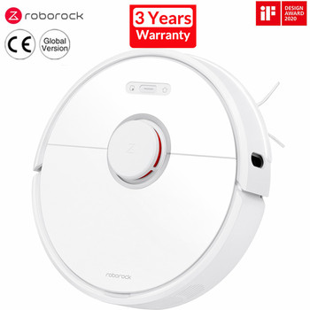 Roborock S6 2000PA Robot Vacuum Cleaner Automatic Sweeping Mopping Dust Sterilize Smart Planned Machine Remote Control Cleaner 4 in 1 multifunctional robot vacuum cleaner vacuum sweep sterilize air flavor lcd remote control timing setting self charging