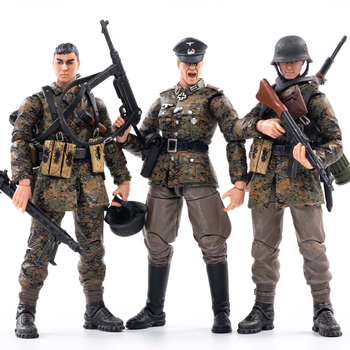 1/18 JOYTOY Action Figure WWII Germany Wehrnacht Spring/Autumn Camouflage Officer Collectible Toy Military Model Christmas Gift 1 18 joytoy action figures hardcore us army paladin military soldier figure model toys collection toy anime christmas gift