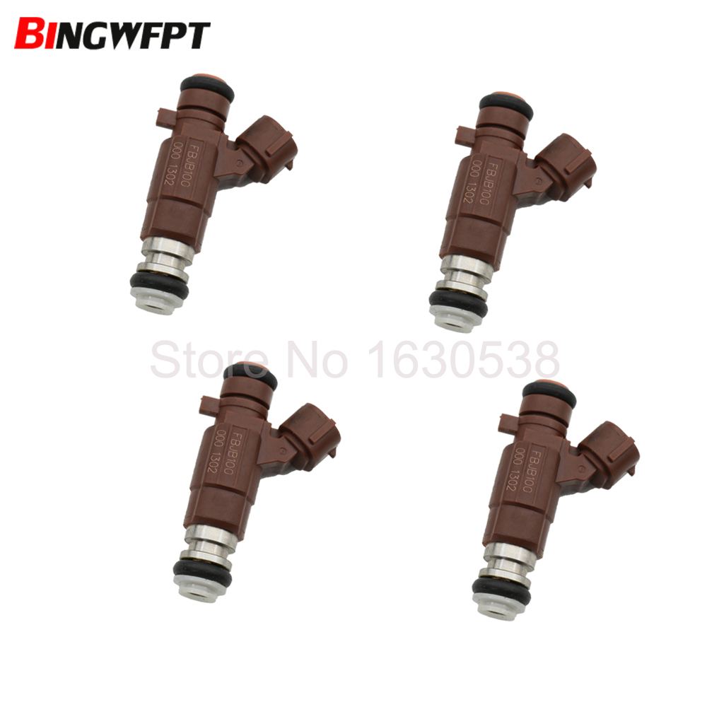 4 pcs Fuel Injector Nozzle For Nissan Sentra 2000-2003 1.8L 4Cyl QG18DE New
