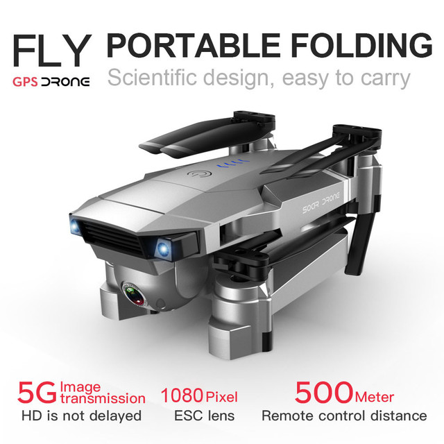 SG907 GPS Drone with 1080P HD Dual Camera WIFI FPV RC Quadcopter Foldable Drone Drone Quadcopter children toys Foldable G30