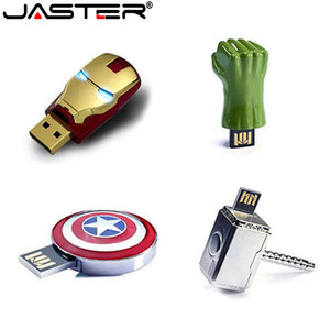 Super Captain America Shield usb flash pen drives 64GB 32GB 8GB 2.0 pendrive waterproof silver u disk memoria cel usb stick gift