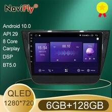 Mekede 7862 dsp qled tela 1280*720 android 10 para morris garagens mg zs 2014 2015 2016 2017 rádio do carro multimídia player de vídeo
