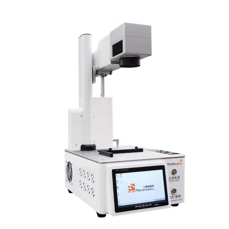 2019 M-Triangel Laser Cutting Machine for Phone 11 Pro XS XSMAX X 8P 8 Back Glass Remover Laser DIY Design Separating Machine