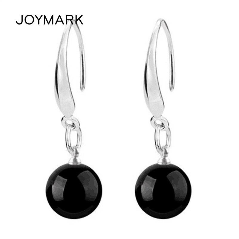 Fashion 6 MM Flower Style White Fire Opal Gemstone Silver Stud Hook Earrings New