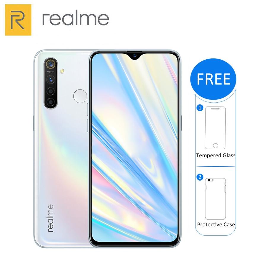 Original New Realme Q 4GB 64GB 6.3'' Moblie Phone Snapdragon 712 AIE Octa Core 48MP Quad Camera 20W Fast Charger Smart Phone