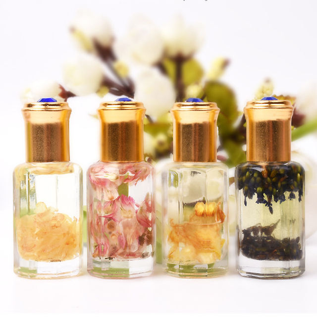1 Bottle 15ml Dried Flowers Softener Nutritional Nail Cuticle Dead Skin Nourishing Oil Nail Art Care Tools for Nail Design