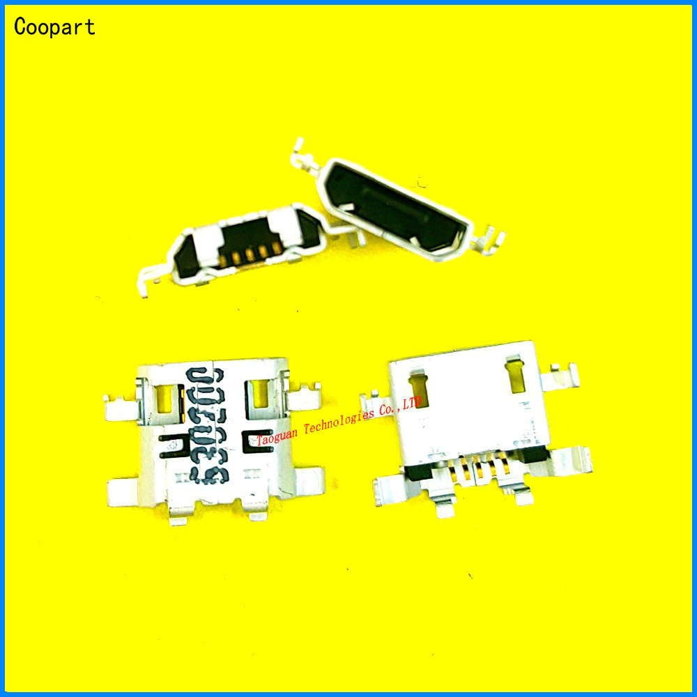 5pcs/lot Coopart New USB Charging Port Dock Connector Replacment For Lenovo Idea Tab A5500 A5500-HV A8-50 High Quality