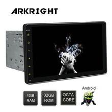 Arkright 9 ''2 DIN 4GB   32GB HD Android 8.1 Auto Radio Wifi/GPS/Bluetooth Universal mobil Radio Multimedia Musik Player dengan DSP RDS