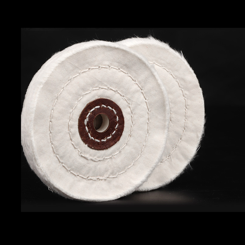 Broca de polimento de pano branco, 1 peça de 3/4/2 '', tampão de polimento, moedor de polimento, madeira, metal ferramenta para ferramentas abrasivas