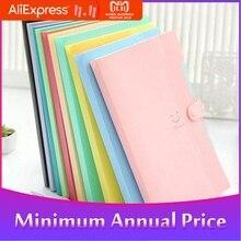 5-pocket Expanding File Folder Organ Bag A4 Organizer Paper Hold Document Folder r20