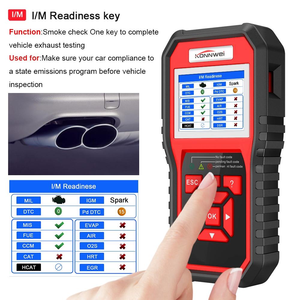 KONNWEI KW850 Auto Diagnose Scanner Universal Obd2 auto diagnose werkzeug Automotive Auto code reader Scanner Programmierer