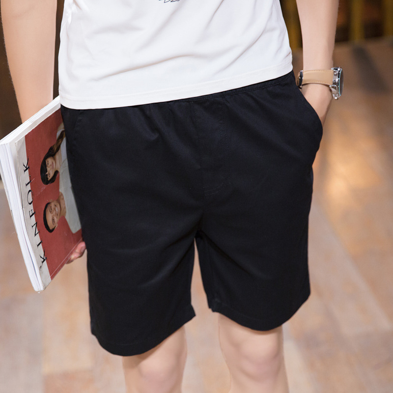 2016 Summer New Style Men Solid Color Short Casual Pants Shorts Korean-style Multi-color Beach Shorts Dk01
