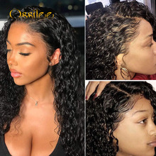 13x6 Lace Front Human Hair Wigs Remy Water Wave Wig