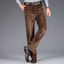 New pantscasual Corduroy Middle-aged bouncy Four s