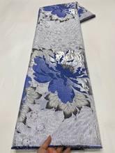2021 novo tecido jacquard brocado damasco africano material do laço floral pano retalhos tissus telas stoff para costura vestido pjz130