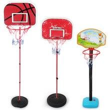 Для дома и улицы восстановится регулируемая подвеска Пластик баскетбольное кольцо для нетбола детские спортивные Баскетбол рамка для съем...