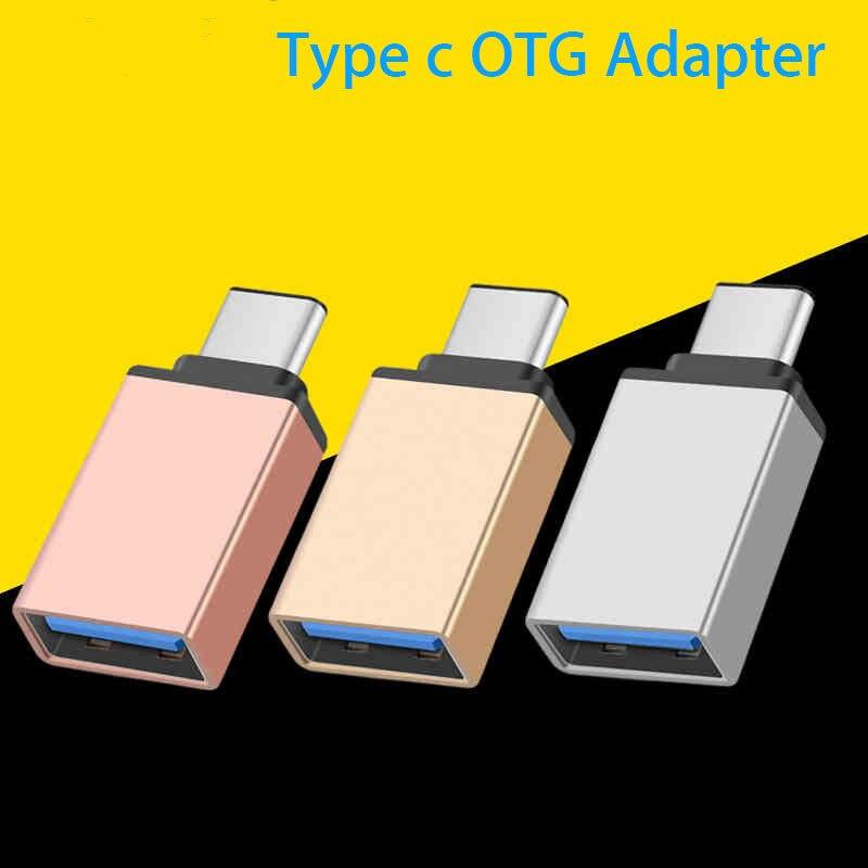 OTG Type-c Usb C Adapter Type C Usb 3.0 Data Converter For Xiaomi Mi 9 9t 8 Lite Cc9 Se Mix 3 2s Max 3 6x A2 A3 Redmi Note 7 K20