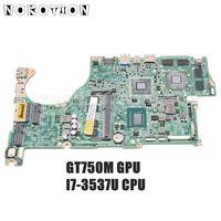 NOKOTION Für Acer aspire V5 572 V5 572G laptop motherboard NBMAL11002 NB. MAL11.002 DA0ZQKMB8E0 SR0XG I7 3537U CPU GT750M GPU-in Laptop-Hauptplatine aus Computer und Büro bei