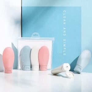 Image 5 - 3pcs Soap Dispenser Bottle Hand Sanitizer Bottle Cosmetics Shampoo Body Wash Lotion Bottle Outdoor Travel Tools 300ML/500ML