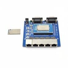 HLK-7628N openwrt module costume série UART intégré wifi sans fil mt7628 RAM128m contrôle de la maison intelligente
