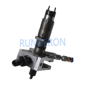 Image 3 - Universal Diesel Service CR Test Bench Fuel Injector Adapter Fixture Clamping Holder Repair Common Rail Tool forBOSCH/DENSO