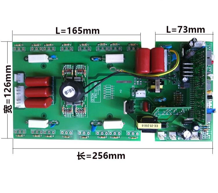 Universal Welding Machine Upper Board Control Board 16 Field Tube Mos Upper Board ZX7315 400 Dual Voltage Circuit Board