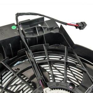 Image 5 - A/c acラジエーターコンデンサー冷却プッシャーファン 5 ブレードbmw X5 E53 00 06 E53 シリーズ 64546921381 3.0 4.4 4.6