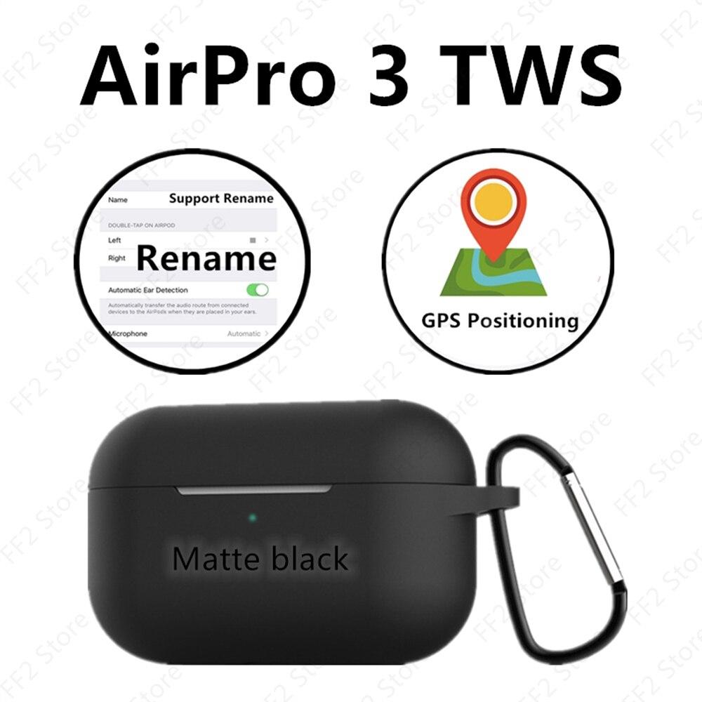 AirPoc 3 TWS GPS positionnement + changement de nom capteur intelligent Bluetooth écouteur casque pk i3000 i90000 pro i99999 I100000 i200000tws