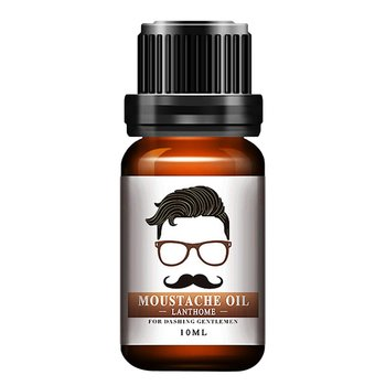1pc Men Natural Organic Styling Moustache Oil Moisturizing Smoothing Dashing Gentlemen Beard Oil Face Hair Care Top Quality 1