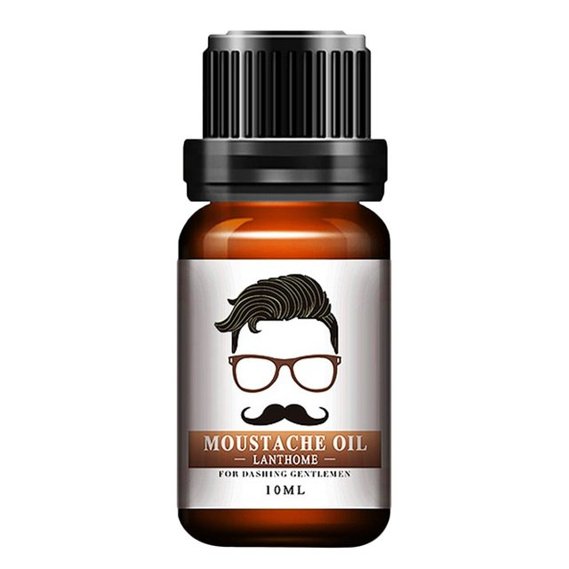 1pc Men Natural Organic Styling Moustache Oil Moisturizing Smoothing Dashing Gentlemen Beard Oil Face Hair Care Top Quality 1