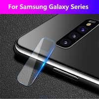 Protector de pantalla de la Lente de la cámara para Samsung Galaxy A90 A80 A70 A60 A50 A30 S10e S9 S8 Plus funda Coque Lentes Verre Tremp