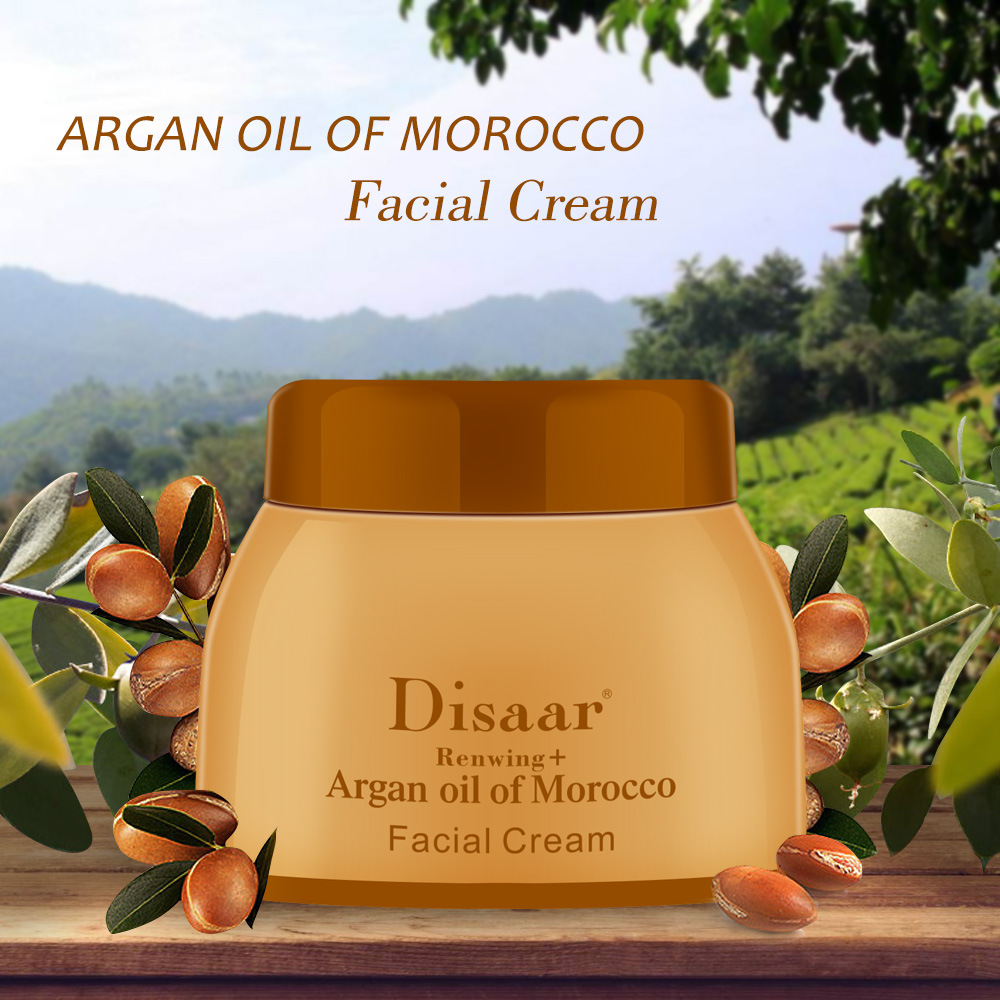 Disaar Argan Oil Morocco Facial Cream Repair Seruming 50g Luxury Face Cream Serum Skin Care Anti-aging Face Lifting Firming