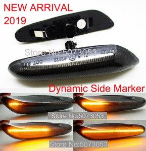 Image 3 - 2PCS Dinamico LED Indicatore Laterale, Luce di segnale di Girata indicatore ripetitori in forma di luce per BMW 1/3/5Ser e60 E61 E81 E87 E88 E90 E92 E93