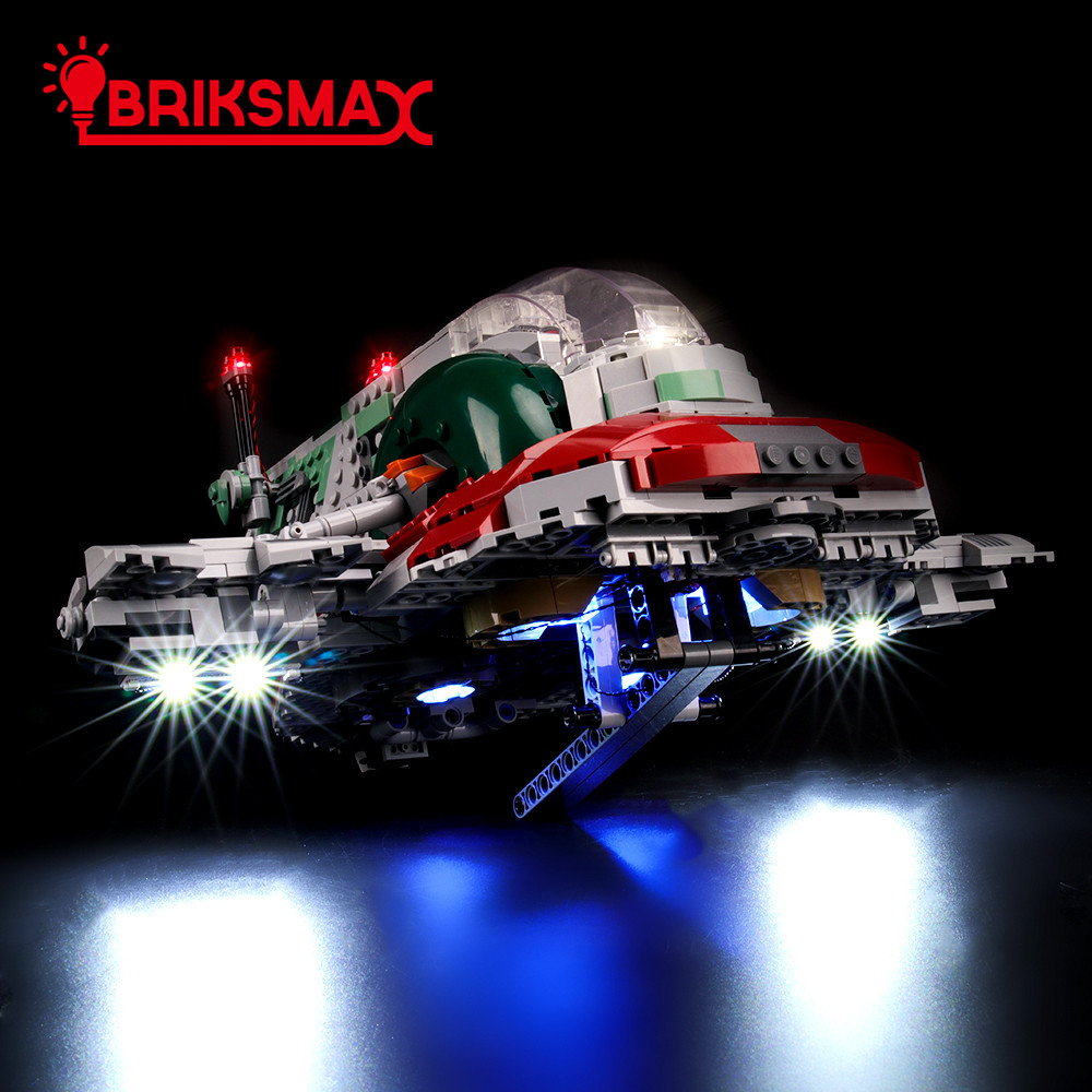 BriksMax Light Kit For Slave L Building Blocks Lighting Set Compatible With 75243 (NOT Include The Model)
