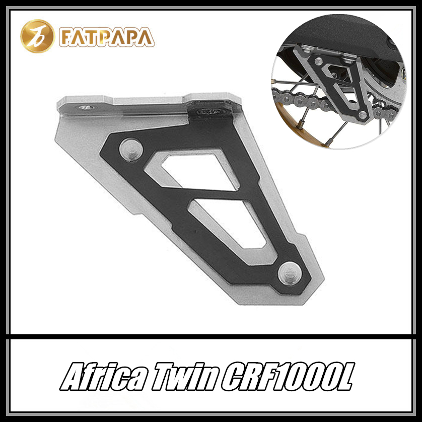 FOR HONDA AFRICA TWIN CRF1000L ADVENTURE SPORTS Motorcycle Accessories LOWER CHAIN GUARD FIN Protection|Covers & Ornamental Mouldings| |  - title=