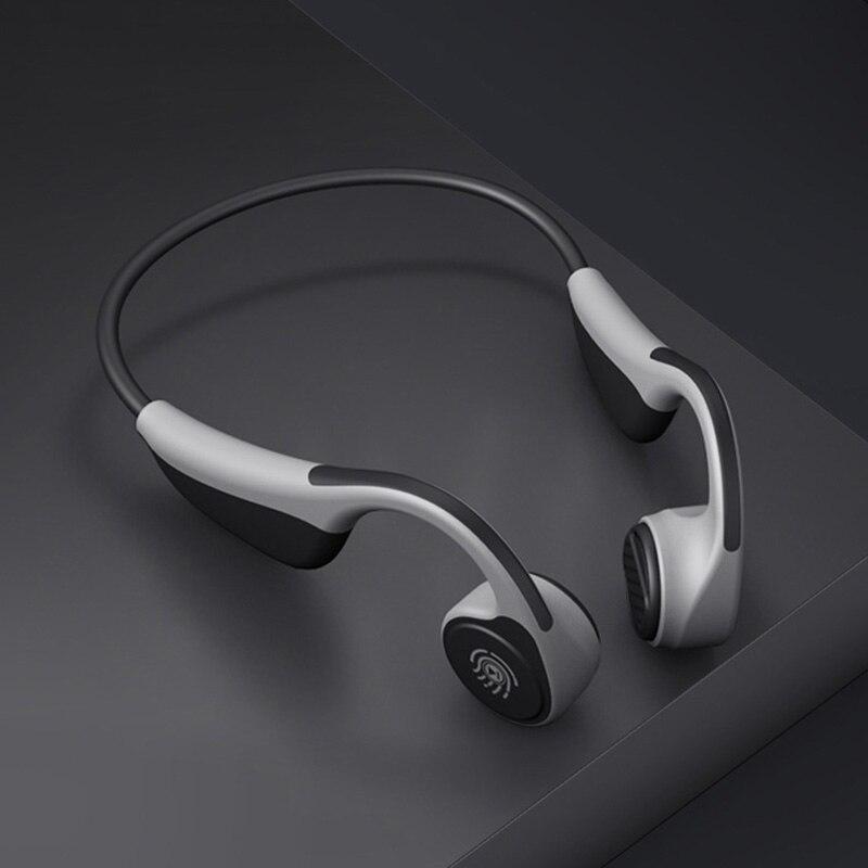 Bluetooth 5.0 S. Wear V9 casque sans fil écouteurs à Conduction osseuse casque de Sport en plein air avec Microphone casques PK Z8