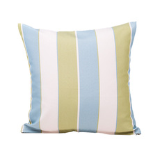 Nordic new simple home dec striped sofa cushion cover 45x45cm no inner square patchwork green blue sofa pillow covers X107 цена и фото